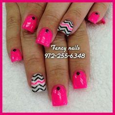 chevron nails for teens 2014