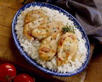 Mushroom chicken in crock pot