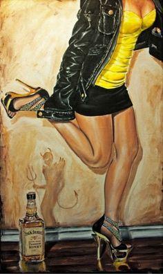 Zwarte sex artwork