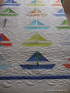 Sunny Sailboats… | Threadtales - The stuff of Life (and Quilts!)