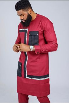 Native Wears, Stylish Mens Outfits, Clothing, How To Wear, Tops, Outfits, Outfit Posts, Kleding, Clothes