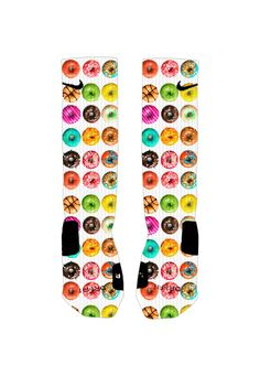 Donuts Socks Custom Nike Elite Socks by ShopElevateGear on Etsy http://www.airmaxbaby.xyz/23907911.html