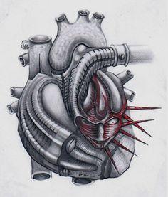 Wired Heart Tattoo Design Heart Tattoo Designs, Cool Tattoos, Tattoo Ideas, Best Tattoo Designs, Heart Tat, Coolest Tattoo, Nice Tattoos