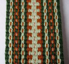 Handwoven strap 2 adjustable metal clips green by CrossAndLoop Inkle Weaving Patterns, Loom Weaving, Loom Patterns, Card Weaving, Tablet Weaving, Finger Weaving, Inkle Loom, Bead Loom Bracelets, Weaving Projects
