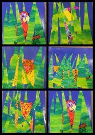 """Résultat de recherche d'images pour """"jungle de henri rousseau maternelle"""""""