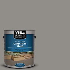 BEHR Premium 1 gal. #PFC-69 Fresh Cement Solid Color Concrete Stain-83001 - The Home Depot