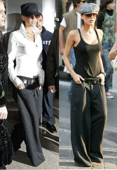 victoria beckham style   It looks like Victoria Beckham has already started it with trousers ...