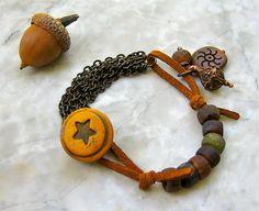 rustic star bracelet . . . by marthasrubyacorn on Etsy