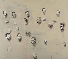 Remote Heads by Michaël Borremans