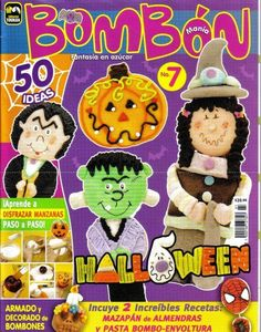 como hacer bombones de azucar para halloween