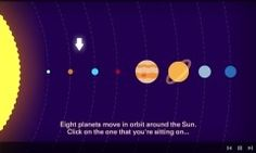 A superb interactive animated video from the BBC about space and astronomy.