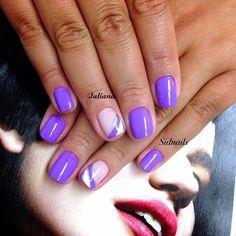 #purple #nailsoftheweek #nails2inspire