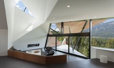 Hadaway House in Whistler by  Patkau Architects