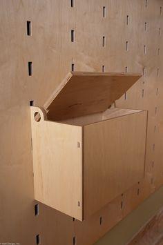 Klappdeckelbox Detail