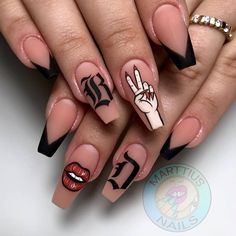 Punk Nails, Aycrlic Nails, Bling Nails, Swag Nails, Stylish Nails, Trendy Nails, Fire Nails, Best Acrylic Nails, Luxury Nails