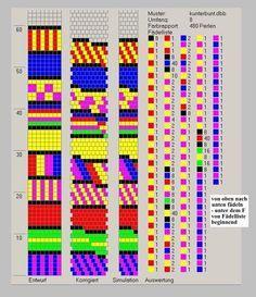 Schlauchketten häkeln - Musterbibliothek: kunterbunt  8 around