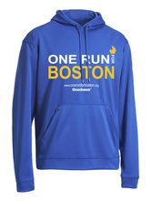 ONE RUN FOR BOSTON HOODED PULLOVER #MadeinUSA via BuyDirectUSA.com