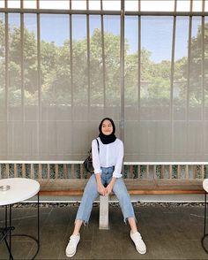 Hijab Fashion Summer, Modest Fashion Hijab, Stylish Hijab, Modern Hijab Fashion, Street Hijab Fashion, Casual Hijab Outfit, Hijab Fashion Inspiration, Muslim Fashion, Fashion Outfits