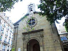 Église Saint-Honoré-d'Eylau. place Victor Hugo. Paris 16ème arr.