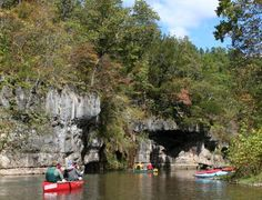 Canoe the Ozark National Scenic Riverways, Missouri  This looks much better in person!