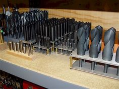 Drill Bits, Countersinks, Reamers & Counter-bores