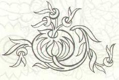 Bu desen aşağıdaki örtünün peçetesi olarak hazırlanmış bir desendir.