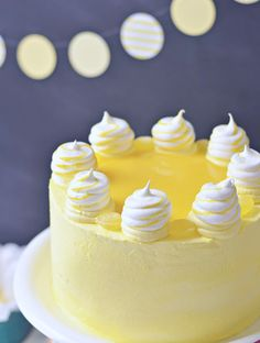 Lemon Meringue Delight Cake | Sweetapolita