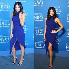 Jenna Dewan Tatum (@jennadewan ) attends the 2017 Upfront party in a #dress by David Koma (@davidkomalondon ) #shoes #hair #makeup #photo #instalike #beauty #redcarpet #event #night #party #newyork #film #instadaily #beautiful #famous #fashion #style #celebrity #glamour #series #instagood #smile #actress #show http://tipsrazzi.com/ipost/1516044854978504947/?code=BUKEsNkjWjz
