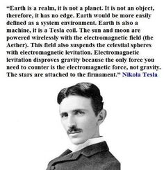Smartest man who ever lived, in North America believe in flat earth! Been looking for this everywhere