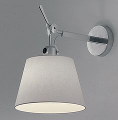 "Artemide Inc.  Tolomeo classic/micro wall spot 7"", 10"", 12"" shade options"