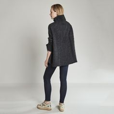 You can wear this chunky-knit, generously fit, 100% cashmere sweater just about anywhere, from work (with a pencil skirt and loafers) to date night (same pencil