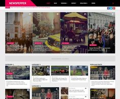 NewsPepper Blogger Template:  NewsPepper is a professional magazine Blogger Template, crafted for news, portal and magazine websites. You can customize it from Blogger Template Designer with more than 100 variations of colors, as well as many options to suit your needs with no coding knowledge required. NewsPepper Blogger Template has 6 different versions and all versions are equipped with automatic switching to RTL language…