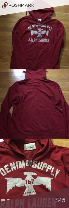 Denim & Supply Ralph Lauren Hoodie Sz XL Excellent condition. Denim & Supply Ralph Lauren Shirts Sweatshirts & Hoodies