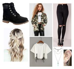 """""""Untitled #209"""" by penguin-pope on Polyvore featuring beauty, Timberland, Missguided and Otis Jaxon"""