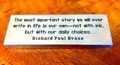 Richard Paul Evans has memorable quotations in every book he writes. Great Quotes, Me Quotes, Inspirational Quotes, Richard Paul Evans, Yearbook Quotes, Commonplace Book, Classroom Quotes, Powerful Words, Book Authors