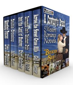 A COWBOY'S BRAND is a sensational boxed set from Prairie Rose Publications! This collection includes five full-length novels from some of the best western romance writers in today's field, including Livia J. Washburn, Meg Mims, Gail L. Jenner, Kristy McCaffrey and Sarah J. McNeal. A Cowboy's Brand: 5 Western Romance Novels  Link: http://amzn.com/B00QE9YJYE
