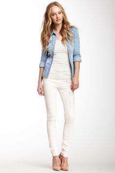 J Brand CK High Rise Skinny Jean on HauteLook