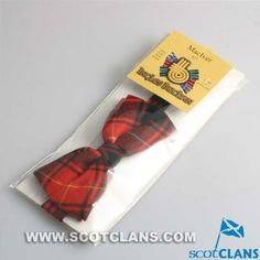 MacIver Clan Tartan Wool Bow Tie