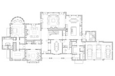 House Layout Plans, House Layouts, Small House Plans, House Floor Plans, Shingle Style Architecture, Shingle Style Homes, Architecture Plan, Home Design Plans, Plan Design