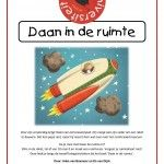 Kinderboekenweek 2015! Ga met Daan mee de ruimte in en ontdek daar van alles.