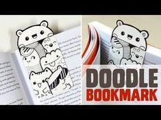 ▶ DIY ~ Mini Doodle Bookmark - YouTube (This is SO cute!!!) Pencil Art Drawings, Doodle Drawings, Mini Doodle, Doodle Books, Kawaii Doodles, Pen Art, Cool Kids, Kids Fun, Mandala Design