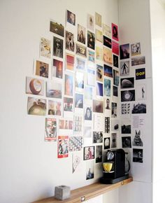 I'm going to get my photos printed out and I'll do this with one of the walls in my room