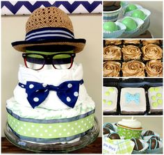 We Heart Parties: Little Man Bowtie Baby Shower