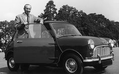 @Visit Greece| Alexander Arnold Constantine Issigonis, innovative #car designer of the 20th  century, creator of the famous #Mini.