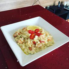 https://flic.kr/p/BrsSjQ | Almoço de sábado: risoto de camarão com raspas de limão siciliano!  - #topchef #risoto #homensnacozinha