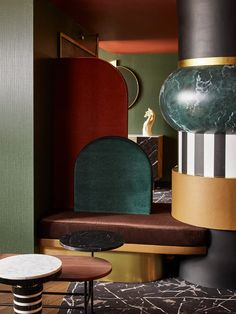 We're So Ready to Escape to This New Hotel in Paris | Architectural Digest French Interior Design, Interior Design Studio, Modern Hotel Lobby, Glass Building, Memphis Design, Yellow Walls, Paris Hotels, Wood Furniture, Decoration
