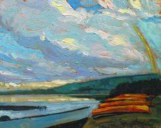 Garth Armstrong - Kioshkokwi Lake Algonquin Park 8 x 10