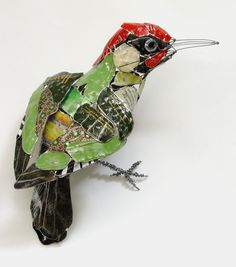 'Green Woodpecker', Barbara Franc