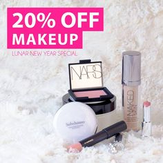 We've got your beauty back. Glam up this CNY with 20% off all MAKEUP! Get ready to impress this CNY. Promo starts today till 13 Jan.  https://www.beautyfresh.com/category/makeup  #BeautyFreshFave #BeautySale #Beauty #Makeup