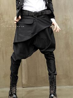 Cheap tapered pants, Buy Quality pants skirt directly from China pants pants Suppliers: Hot Sale manlow-rise pants harem pants skirt 's men's small casual long trousers small tapered pants maleHaroun pants Sarouel Pants, Harem Pants Men, Baggy Pants, Skirt Pants, Harem Pants Outfit, Hot Pants, Denim Pants, Pantalon Thai, Low Crotch Pants